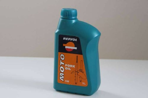 Repsol suspension fluid Fork Oil 5W SAE 5 1l