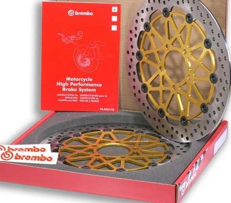 Brembo High Performance racing brake disks Daytona 675R 208973756