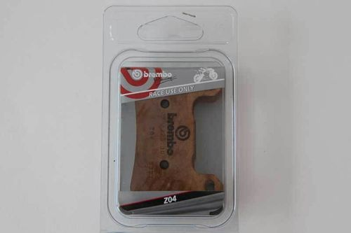 Brembo Z04 Pure Racing brake pads front 107670823
